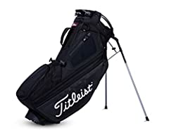 Fourteen full-length dividers provide the organization of a cart bag with the convenience of a stand bag.