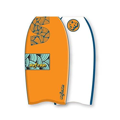 SURF & SUN Bodyboard Similar EPS 33' - Orange et bleu SURF N SUN 3323758426043