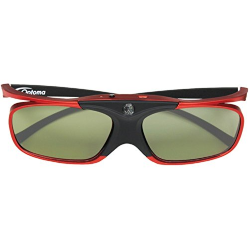 3d Computer Glasses - OPTOMA ZD302 ZD302 DLP(R) Link(TM) Active Shutter 3D Glasses Electronic Computer Accessories