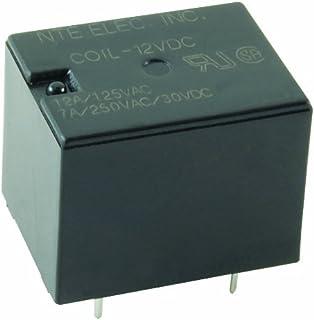 nte electronics r14 11d10 12 series r14 general purpose dc relay rh amazon com
