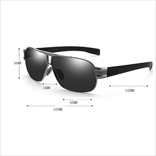 Pesca HD Aire Color Sra Luz UV Gafas de HOME QZ 400 Square 2 Viaje Hombre Libre de polarizada Conducir al Sol 3 Gafas ARWnv6