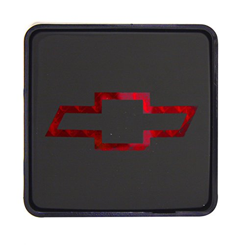 (Super Automotive Trailer Hitch Cover Plug, Chevrolet Truck Tow Cover Hitch with Brake Light)