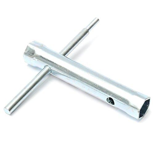 6Pcs Tubular Box Spanner Tube Spanner Wrench Metric Socket Set 6mm-17mm