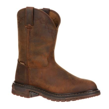 Rocky Ride Comfort System - Rocky Men's FQ0001108 Western Boot, Trail Brown, 11 M US