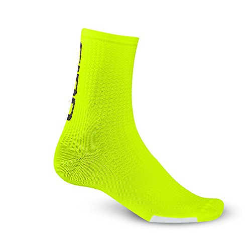 Giro Hrc Team Socks Highlight Yellow Black X Large