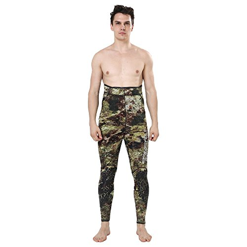 Realon Wetsuit 5mm 3mm Full Spearfishing Suit Camo Scuba