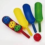 Kids Outdoor Sports PE Gym Activity Durable Plastic Scoop Spade Scoop Set of 4