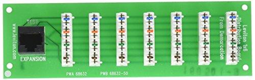 Telephone Board Expansion (Leviton 47609-F6 1 x 6 Bridged Telephone Expansion Board (4 Lines to 6 Locations))