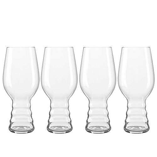 Spiegelau 4991382 IPA Craft Beer Glasses (Set of 4), Clear (Best Ipa Craft Beer)