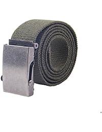 Canvas Web Belt Military Style Belt