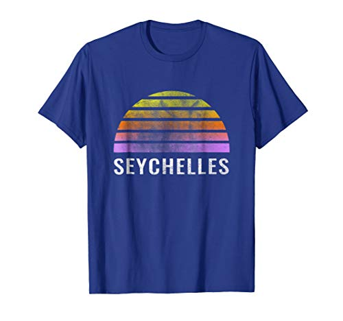 Throwback Sunset Vintage Seychelles Shirt ()