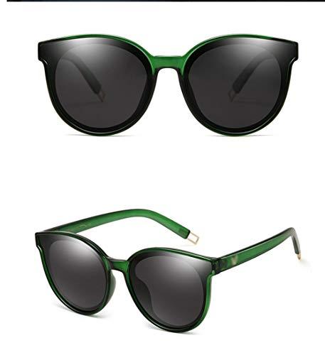 Marco WJYTYJ Polarizada última Grande De Unisex Retro Retro Gafas Sol contra Gafas La Protección Negro UV La Marco Radiación r05wrqv