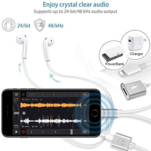 c9b4cd033ded84 KSHCZB Earbuds Bluetooth Speaker Jack Adaptor Aux Cable Headsets Converter  Accessories Lightweight and Portable Outdoor Stereo