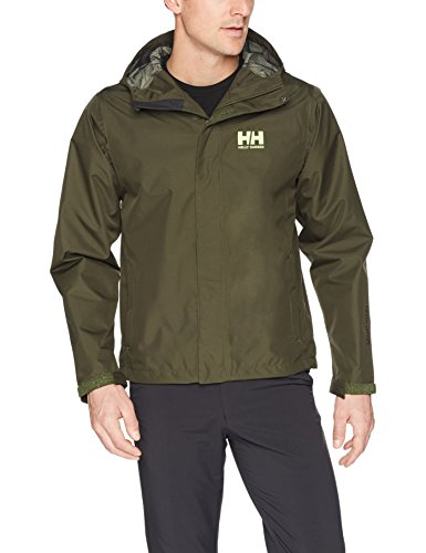 Helly Hansen Men's Seven Junior Jacket, Forest Nigh, Small by Helly Hansen