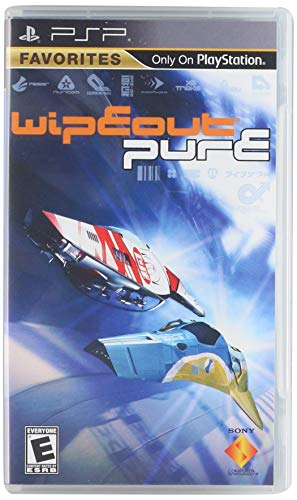 Wipeout Pure - Sony PSP (Best Selling Psp Games Of All Time)