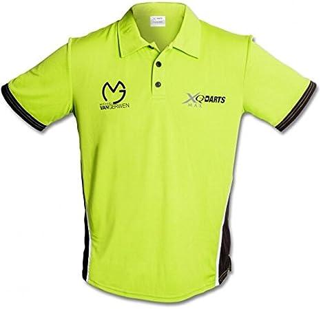 Polo camisa – Dardos de manga larga – Camiseta de competición MVG ...