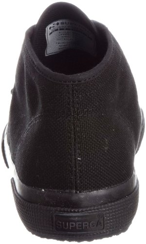 Superga 2754 COTU - Zapatillas Unisex Negro (Total Black)