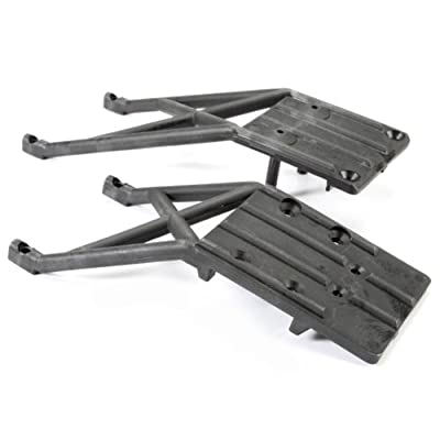 Traxxas 5837 Skid Plates, Front and Rear, Black: Toys & Games