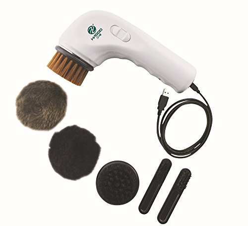 - EONSMN Electric Shoe Polisher, Portable Handheld Rechargeable Shoe Brush for Leather Bag Car Seat or Sofa
