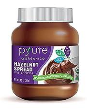 Organic Hazelnut Spread with Cocoa by Pyure | Keto Friendly, 369 g