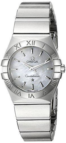 Omega 123.10.24.60.05.001 constelación Mother-of-Pearl Dial reloj de la mujer por Omega: Amazon.es: Relojes