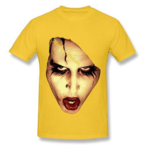 mingrui-mens-marilyn-manson-shock-rock-t-shirt-l-yellow