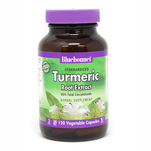 (BlueBonnet Turmeric Root Extract Supplement, 120 Count)