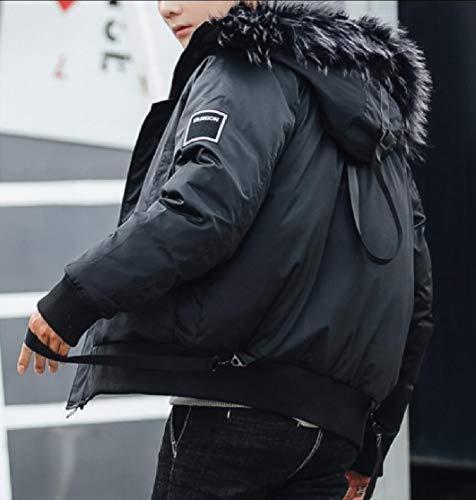Collare Outwear Ttyllmao Spessore Uomini Caldo Camuffamento Con Degli Di Cappuccio 1 Cappotto rBfrzFqOn