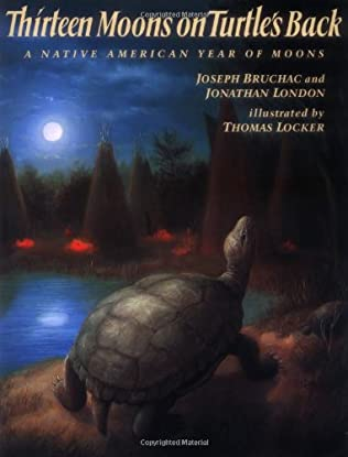 book cover of Thirteen Moons On Turtle\'s Back