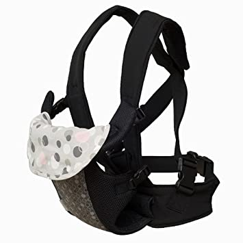 a20b2661156 Amazon.com   Fleurville 3-position Comfort Infant Carrier (Gray Pink)    Child Carrier Products   Baby