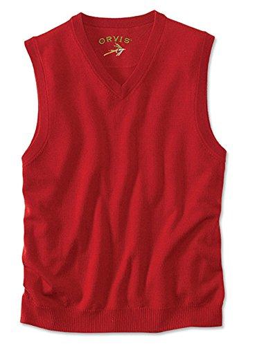 V-Neck Wool Vest - 4