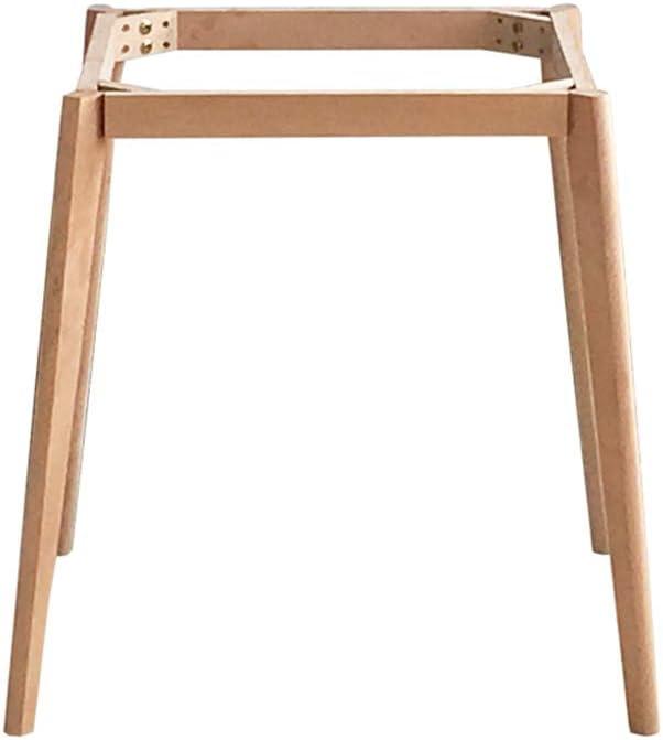 木製テーブルフレーム/テーブル脚、家具DIYアクセサリー脚、北欧テーブル脚、丸テーブルトップに適しています