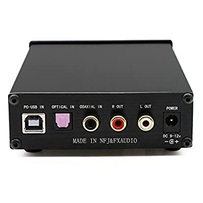 FX Audio DAC-X6 24BIT/192 Optical/Coaxial/USB Digital Audio Amplifier DAC Decoder