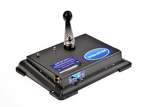 PEATAO Small Cigarette Roller Machine Hand Operation Tobacco Injector Maker Roller Metal Machine(US STOCK)