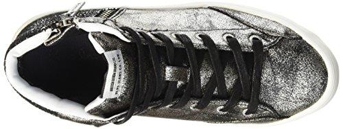 Clinton Gris Jeans Femme Pepe 952chrome Hautes Baskets Break 5zOwzaSq
