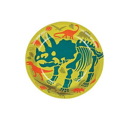 24 Pc Dinosaurs Party Dessert Plates