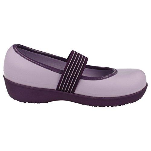 Crocs Damen Schuhe Ballerina Lexiverkeilt Grape/Lavender