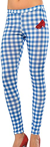 Rubie's Costume Co Women's Wizard Of Oz Dorothy Leggings, Gingham, One Size