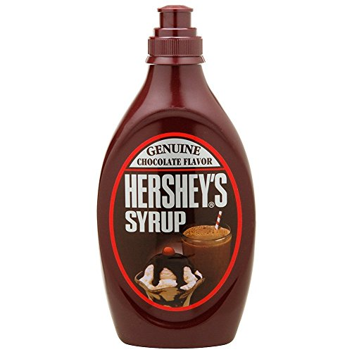 Hershey's Chocolate Syrup 24 oz (Pack of 2) by HERSHEY'S