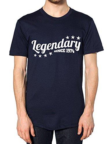 Legendäre seit 1974T Shirt Gr. X-Large, navy