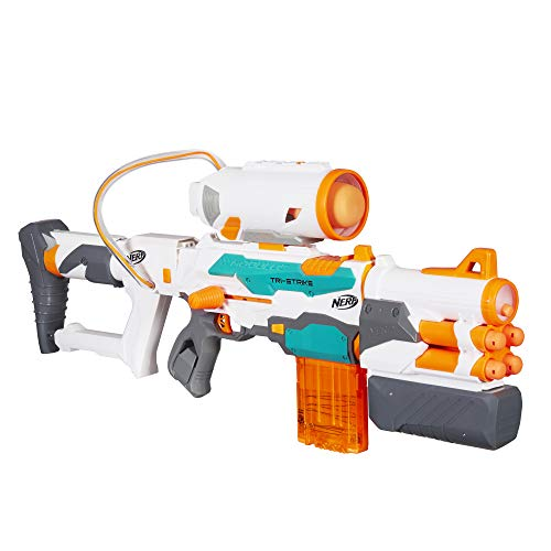 Nerf Modulus Tri-Strike (Best Nerf Sniper Ever)