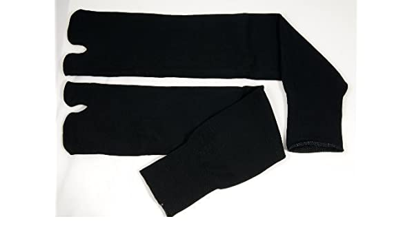 Calcetines Negros Ninja Tabi (Tamaño Adulto): Amazon.es ...