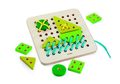 (PlanToys 5372 Lacing Board Toy)