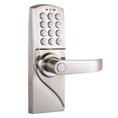 Digital Electronic/Code Keyless Keypad Security Entry Door Lock Right Handle New Most Viewed na