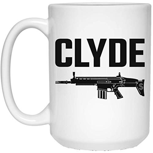 Kingdom Creations Bonnie & Clyde Coffee Mug Cup,