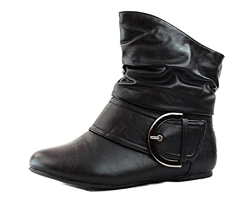 High Heel Slouch Ankle Boot - 7