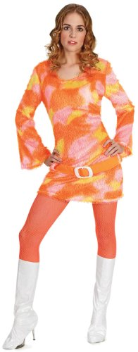 [Funny Fashion Shag-A-Delic Dancing Queen 70s Adult Costume As Shown - Standard] (Seventies Fashion Costumes)