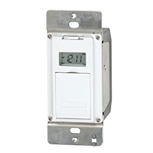 Indoor Light Timer Switch: Intermatic EJ500 Indoor Digital Wall Switch Timer,Lighting