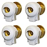 Door Knob Safety Cover Lock by KidSwitch (4 Pack)