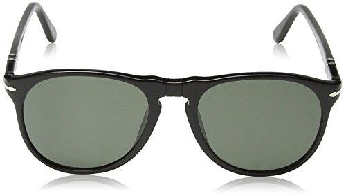 Black de Persol Negro Adulto Unisex Gafas Grey Sol nPYYwqZ1